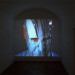 Hannu Karjalainen, Man in blue shirt, installation view, 16 mm film on dvd, duration 5 minutes 19 seconds, 2006.
