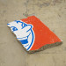 Andrew Gillespie, Mets, 2015, Silkscreen on cast concrete, 30 x 20 x 5 cm.