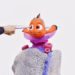 Thomas Hämén, Let your animation run wild, 2017. Critter clay, acrylic paint, polymorph, Hot Toys T1000 collectable, Finding Nemo figure. 35 x 25 x 15 cm (detail).