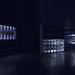 Claude Eigan, Under C-level, Ceiling lights boxes, broken neons, LED 'breathing' lights. Dimensions variables, size of each box : 62 x 62 x 10 cm, 2016.